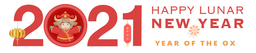 Happy Lunar Year of the Ox
